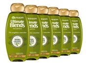 Garnier Ultimate Blend Olive Oil & Olive Leaf Extract Dry Hair Shampoo 360ml X 6