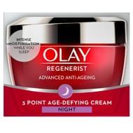 Olay Regenerist 3 Point Night Cream 50Ml - Half Price