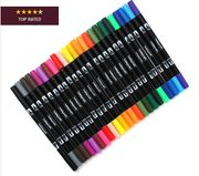 Dual Tip Brush Markers 24 Pack HALF PRICE