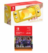 NINTENDO Switch Lite - Yellow with Football Manager Touch 2020 Only £209