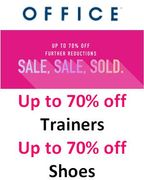 OFFICE Shoe Sale - up to 70% off Trainers, Shoes & Boots