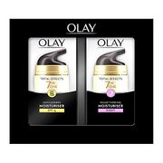 Olay Total Effects Anti-Ageing Moisturiser Day and Night Cream with Niacinamide