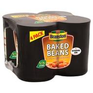 Branston Baked Beans in Tomato Sauce 4 X 410G