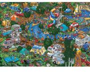 Getting Away from It All Triptych Jigsaw