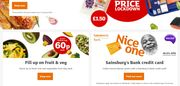 Get £18 Your First Online Grocery When You Spend £60!