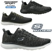 Mens Skechers Relaxed Fit Lite-Weight Memory Foam Walking Trainers Shoes