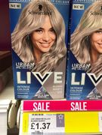 Live Hair Dye - Blonde Quartz
