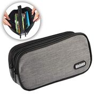 Pencil Case - Lightweight Waterproof Canvas Pen Case Pencil Bag for School