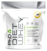 PhD Diet Whey Protein Powder - Vanilla Crme (1kg) Instore Boots (Brighouse)