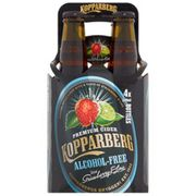 Kopparberg Alcohol Free Cider with Strawberry & Lime at ASDA