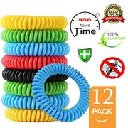 Mouttop Mosquito Repellent Bracelet,100% Natural Non-Toxic 350Hrs Protection