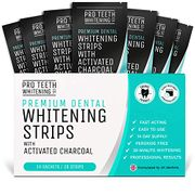 Teeth Whitening Strips with Activated Charcoal