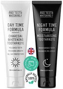 Activated Charcoal Teeth Whitening & Night Time Anti Dry Mouth Toothpaste