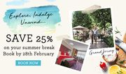 Grand Jersey & L'Horizon Beach Hotel & Spa - save 25% plus Complimentary Extras