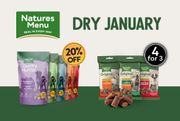 Get 20% off Country Superfood Crunch Dog Food