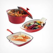 Cast Iron 3 Piece Set Down From £54.99 to £43.99