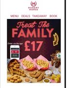 Treat the Family for £17 at Hungry Horse Pubs