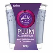 Glade Candle Plum Passion Pulse