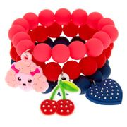 Claire's Club Beaded Stretch Bracelets - 3 Pack