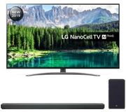 LG 55 Smart 4K Ultra HD LED TV with Google+ Free LG 2.1 Channel Sound Bar