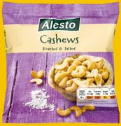 Alesto Roasted & Salted Cashews 150g 99p