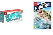 Nintendo Switch Lite - Turquoise + Legendary Fishing Only £211.31