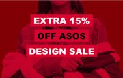 ASOS Extra 15% off Code on Already up to 70% Design Sale - Prices from £1.80