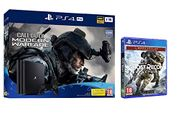 CoD: Modern Warfare PS4 Pro Bundle (PS4) + Ghost Recon Breakpoint Ltd Edition