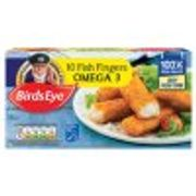 Birds Eye Omega 3 Fish Fingers X10 280g
