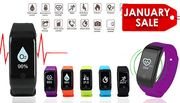 HR12+ Fitness Tracker with Blood Pressure, Oxygen & Heart Rate Monitor