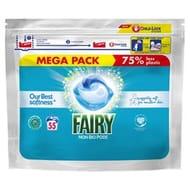 Fairy Non Bio Pods Washing Capsules Sensitive Skin 55 per Pack