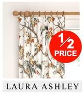 HALF PRICE! LAURA ASHLEY Ready Made Curtains