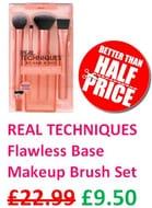Real Techniques Makeup Brush Set for Foundation, Concealer & Contouring
