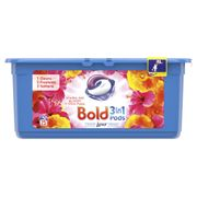 Bold Sparkling Bloom and Yellow Poppy Pods 25 Washes
