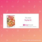 Dr. Oetker Momenti Pizza (3 Varieties) Try for £1