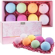 Bath Bombs Gift Set (8 X 110g), Fizzy Spa to Moisturize Dry Skin