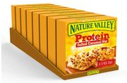 32 Bars of Nature Valley Protein Salted Caramel Nut Gluten Free Cereal Bars 40g