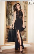 Lipsy Sequined Long Dress