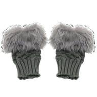 Women's Wrist Warmer Winter Fingerless Gloves