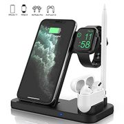 4 in 1 Wireless Charger, Apple Watch & AirPods & Pencil Charging Dock Station