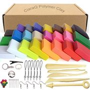 CiaraQ Polymer Clay, 24 Colors Oven Bake