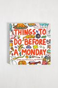 Things to Do before a Monday Book, Only £4.00!