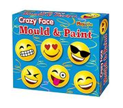 Make Your Own Crazy Emoji Faces Mould and Paint Fridge Magnet