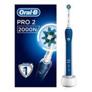 Oral-B Pro 2 2000N CrossAction Electric Toothbrush - Powered by Braun