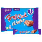 Cadbury Timeout Wafer 7 Pack