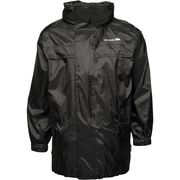 Trespass Boys Packa Waterproof Pack Away Jacket Black