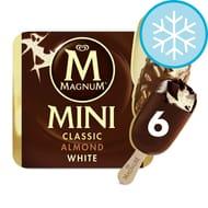 Magnum Mini Classic, Classic Almond & White, Chocolate & Orange Ice Cream 6X55ml