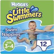 Huggies Little Swimmers Swim Nappies X12
