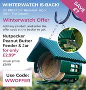 Winter Watch Is Back On BBC2 * Here Is A Winterwatch Offer From Us