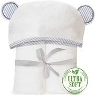 Organic Bamboo Hooded Baby Towel Soft, Hooded Bath Towels